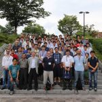 Group photo from the collaboration meeting in Hiroshima in 2014