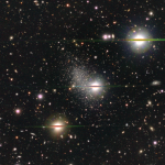 June 2016: A dwarf galaxy on the edge of the Local Group. Individual stars are nicely resolved and it demonstrates the excellent image quality of the HSC data.