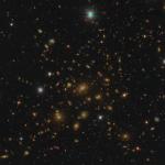A massive galaxy cluster